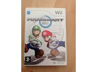 Wii Mariokart Game