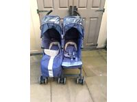 Maclaren twin techno double buggy stroller