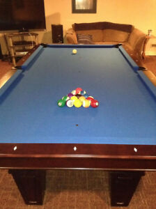 Brunswick Contender Allenton 7'x3.5' slate pool table