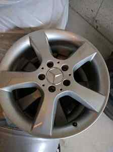 4 marcedes benz c300 rims for AMG 17inch fits 2009