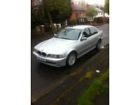 2001 BMW 520ise automatic silver I years mot completely original £995