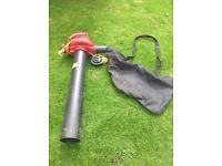 Garden blower and vac