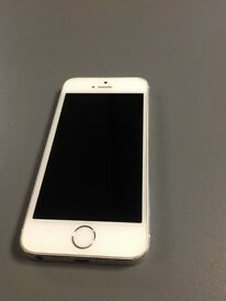 Apple iPhone 5s - 16GB - EE Network - Silver - 4G - Good Condition - With Receipt