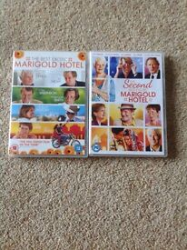 2 DVD's Best Exotic Marigold Hotel & Second Best Exotic Marigold Hotel