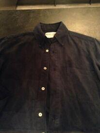 Men's small/medium miyuki-zoku blue shirt