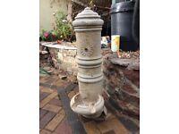 Concrete Stone WATER FOUNTAIN - Excellent Condition