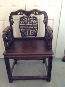 Oriental chair  for sale