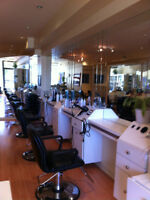 HAIRSTYLIST WANTED TO RENT CHAIR OR COMMISSION-YONGE & LAWRENCE