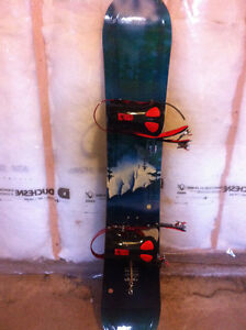 Snowboard and Bag
