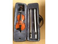 3/4 Size Violin Outfit with Bow and Case