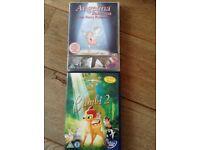 Two children's DVDs