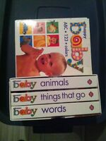 Hard cover baby books