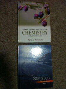 LU Chem and Stats textbooks
