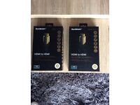 Two Gold HDMI Cable 1m