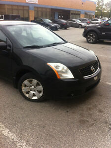 2008 Nissan Sentra, low km's priced for quick sale!