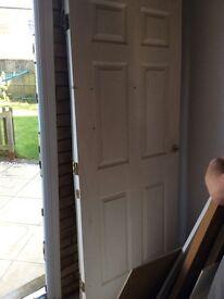 6 panel interior fireproof door