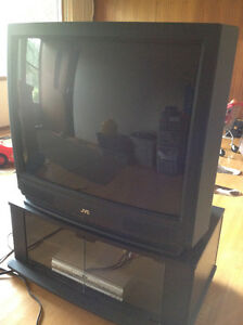 "36"" JVC TV, stand and DVD player Edmonton Edmonton Area image 2"