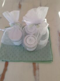 Baby Blooms Gift Set plus candle