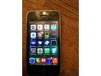 iPhone 3GS 8 gig j/broken with games