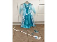 Disney Elsa Frozen costume age 4-5