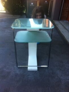 Glass side table  Ryde Ryde Area Preview