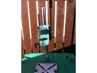 New metal constructed drill stand for sale