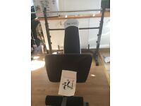 Olympic bench and 50kg weight plates