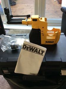 Dewalt Rotary hammer drill D25300 Dust extractor