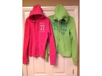 2 x Hollister hoodies - Medium size women's/girls - Excellent condition - bargain at £20 (for both)
