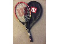 Wilson and Prince tennis racket clearance. Prices from £10 - £20