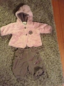 Ensemble vêtements bébé fille krickets