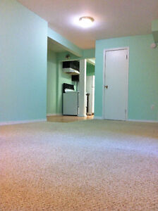 !! Spacious Basement Suite Available Immediately !!