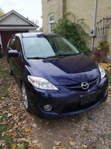 2010 Mazda 5 manual transmission - Winter ready
