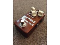 Tone Freak SERVRE high gain overdrive pedal