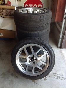 2007 Ford Mustang Cobra rims and tires