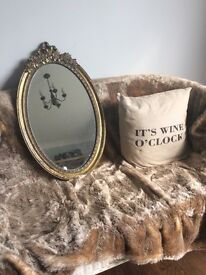 Mirror shabby chic vintage upcycle project