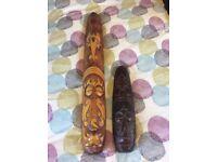 Set of Wooden Masks