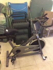 ROGER BLACK SPIN BIKE used condition