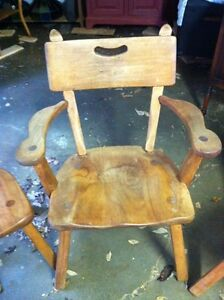 Imperial Loyalist Maple Chair Set  London Ontario image 4