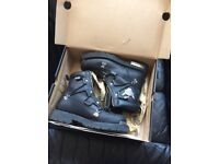 Harley boots size 8 uk