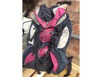 Lovely large size ladies karrimor rucksack (used once) £20