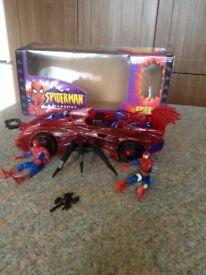 Spider-Man web car