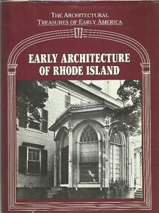 1988 EARLY ARCHITECTURE OF RHODE ISLAND