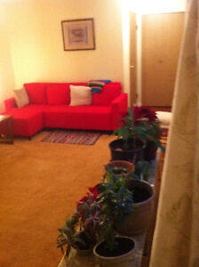 TWO-BEDROOM FURNISHED GARDEN APT. - 1 YEAR LEASE