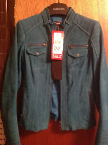 Suede jacket from Danier Leather