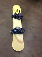 Limited snow board 148cm with bindings