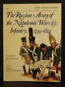 Osprey   Men-At-Arms Series # 185  Russian Army: Napoleonic Wars