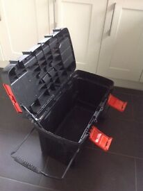 Black and Decker Tool Box on wheels