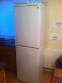 Fridge freezer beko tall freestanding in white
