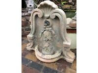 Concrete Stone WATER FOUNTAIN with Plinth - Excellent Condition